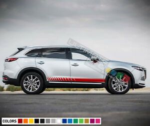 Stickers Decal For Mazda Cx 9 Stripe Body Kit Replacement Door Sticker Fuel Wing