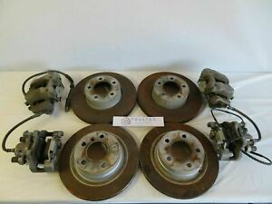 2013 2014 2015 Bmw F30 328i 335i Brake Rotors And Calipers W Pads Full Set Oem