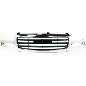 New Grille For 2003 2006 Gmc Sierra 1500 2003 2004 Sierra 2500 Ships Today