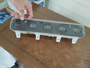 Yj Jeep Wrangler 1993 1994 1995 Gauges Center Dash