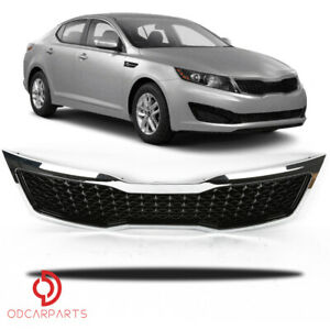 Fits Kia Optima 2011 2012 2013 Front Upper Grille Grill Chrome only Lx ex