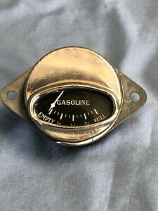 Nos Vintage Antique Gas Fuel Dash Gauge Dodge Brothers Chrysler Plymouth