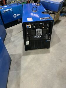 2018 Miller Big Blue 400 Pro Portable Welder Mitsubishi Diesel 133 Hours
