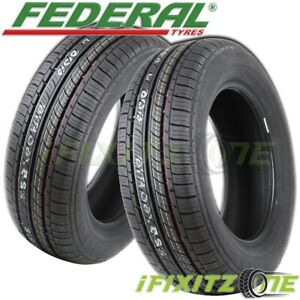 2 Federal Ss657 225 60r15 96h Ultra High Performance Uhp Tires