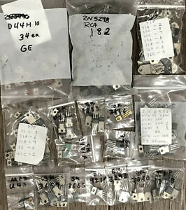 2 Lbs Over 350 To 202 And To 220 Silicon Npn And Pnp Power Transistors 2n And Sk