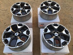 4 Pre Owned 17 X 7 Subaru Forester Wheels 5x100 Oe Factory