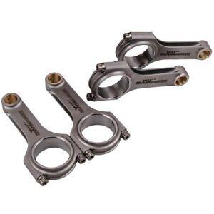 H beam Connecting Rods For Toyota Corolla 4age Aa63 Ae86 At160 At171 Carina 1 6l