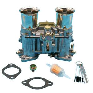 New Carburetor With Two Gaskets For Weber 48 Ida 48ida Vertical Style 19030 018