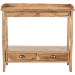 Peter Console With Storage Drawers Amh6571a