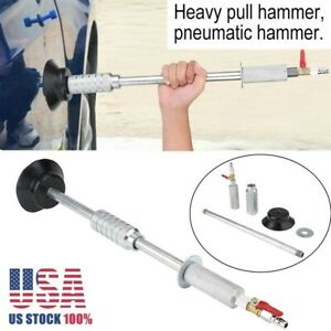 Air Pneumatic Dent Puller Repair Suction Auto Body Cup Slide Hammer Tool Kit Us