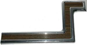 79 87 Mercury Colony Park right Passenger Front Fender Lower woody Molding
