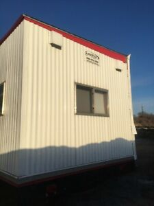 Used 2007 24 x60 Double Wide Mobile Office box 24 x56 S 727407ab kc