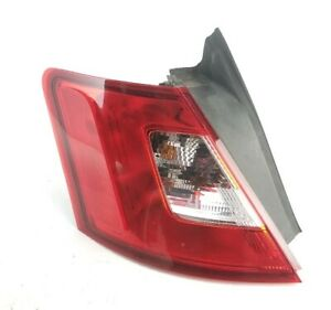 2010 2012 Ford Taurus Driver Tail Light Quarter Panel Mounted Oem 11 12 Left