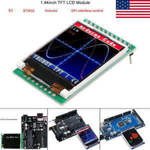 1 44 Tft 128x128 Spi Lcd Screen Module 51 Stm32 Arduino Routines For Arduino