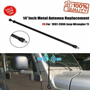 Car Antenna Replacement Optimized Fm Am Reception For Jeep Wrangler Tj 1997 2006
