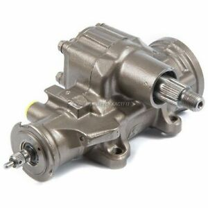 Power Steering Gear Box For Dodge Durango 4wd W Snow Plow Package 1998 1999