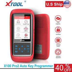 Usa Ship Xtool X100 Pro2 Auto Programmer With Eeprom Adapter Mileage Adjustment