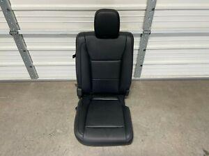 2017 2020 Ford F250 F350 F450 Lariat Black Leather Crew Cab Rear Seat Passenger