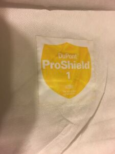 Dupont Tyvek Prosheild 1 Disposible Coveralls 6x Lot Of Six Free Shipping