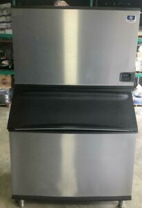 Off Lease Manitowoc Id1406w b970 Commercial Water Cooled Ice Machine