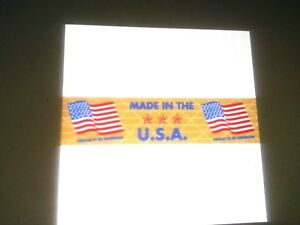 Gummed Tape reinforced 10 Rls 450 Ft Made In The Usa Flag Printed 108 00 Cs