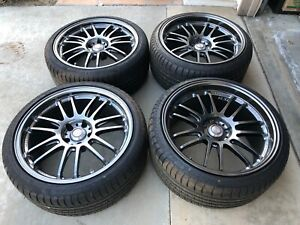 Volk Racing Re30 19x9 19x10 5x114 3 Rays Engineering Staggered