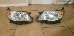 2009 2010 2011 2012 2013 Subaru Forester Headlights Left And Right Oem