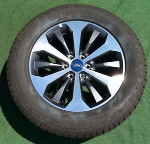 Factory Ford F150 Wheels Tires 4 New 2020 Oem Stx Machined Finish 20 Inch Lariat