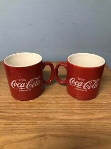 Set Of 2 Coca Cola Mugs