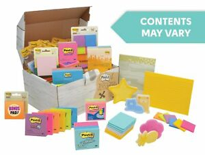 Post it Treasure Chest Assorted Sizes And Ed65v10