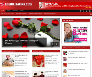 Online Dating Tips Plr Niche Blog Wordpress Ready Made Website