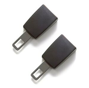 Universal Car Seat Belt Extender 2 Pack 3 Rigid Type A 21 5mm Wide Metal Tongue