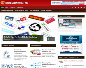 Social Media Marketing Plr Niche Blog Wordpress Ready Made Website