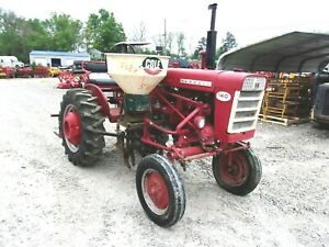 Farmall ih 140 Offset Cultivating Tractor Free 1000 Mile Delivery From Ky