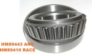 Hm89443 And Hm89410 Tapered Roller Bearing Race For Daytona Pinion Support