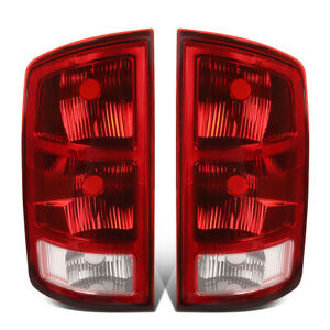 For 2002 2006 Dodge Ram 1500 2500 3500 Oe Style Led Rear Tail Light Lamps Lh rh