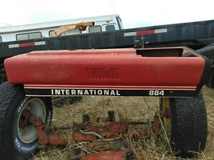 International 884 Tractor Hood Lower Exhaust Good Used