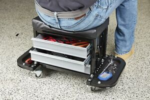 New Mechanic S Roller Seat With Drawers Free Shipping