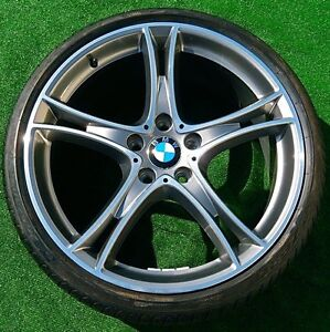 Factory Bmw F30 335i Wheels Tires 20 Inch New Oem Double Spoke 361 Forged 435i