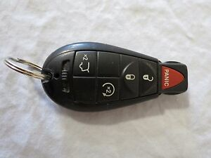 08 13 Jeep Grand Cherokee Remote Start Smart Key Lock Entry Oem 05026309ad