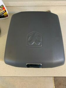 13 18 Dodge Ram 1500 2500 3500 Gray Center Console Lid Only Oem