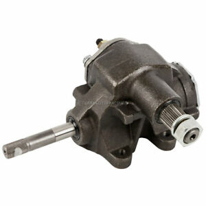 Quick Ratio Manual Steering Gear Box For Chevy Buick Pontiac Olds Saginaw 505