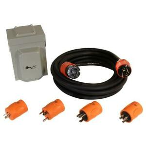 Generator Emergency Power Kit Come With L14 20 Inlet Box Generator Cord