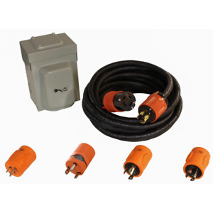 Generator Emergency Power Kit Come With L14 30 Inlet Box Generator Cord