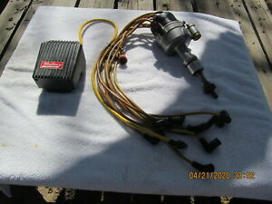 Mallory Distributor Coil Wires Ford 260 289 302 Good Condition