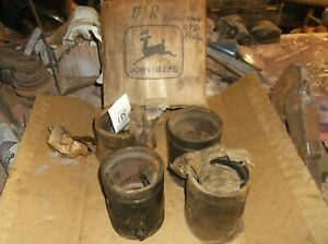 4 New Old Stock Unstyled B Pistons B1r