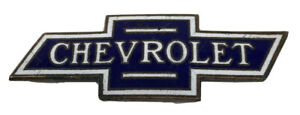 1928 Chevrolet Chevy Cloisonne Hood Radiator Ornament Emblem Decal