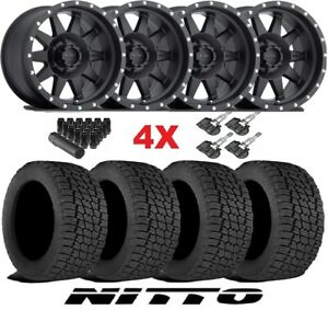 Method Wheels Rims Tires 285 70 17 At Nitto Terra Grappler Mr304