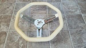 Vintage Octagon Steering Wheel Custom Van Truck Car Lowrider Chevy Ford Dodge