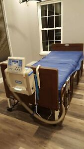 Hill Rom Versacare P500 Mattress With Control Unit And Electric Hospital Bed